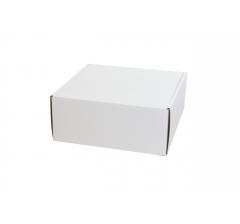Коробка 20*20*8,5 см, бел, ДП82
