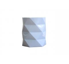 Коробка - ваза (ламинированная) голубая