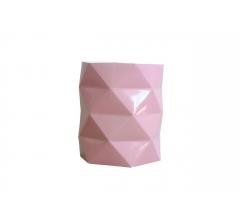 Коробка - ваза (ламинированная) розовая