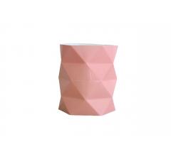 Коробка - ваза (ламинированная) персиковая