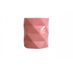 Коробка - ваза (ламинированная) коралловая