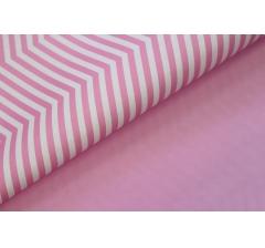 Бумага 70*50 см (10 листов), розовый зигзаг