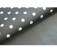 Бумага 70*50 см (10 листов), черно-белый горошек