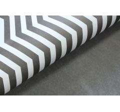 Бумага 70*50 см (10 листов), черно-белый зигзаг