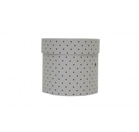 Коробка для цветов цилиндр, d-150, h-150, дизайн 110
