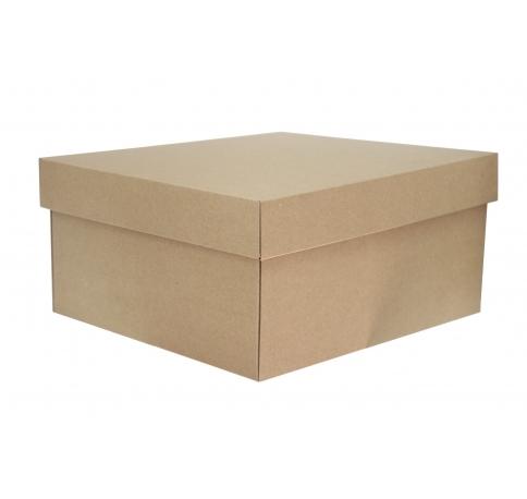 Коробка - крафт 30*27*14 см
