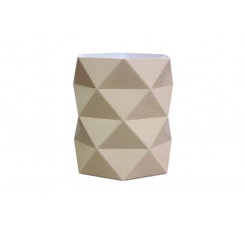 Коробка - ваза 17*20 см, бежевая
