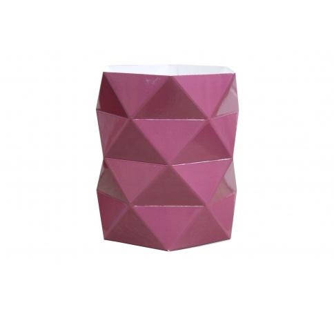 Коробка - ваза 17*20 см, вишневая