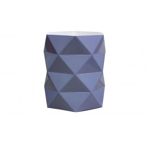 Коробка - ваза 17*20 см, черничная