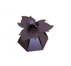 "Коробка ""Цветок"", фиолетовая"