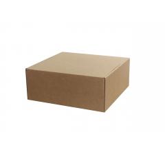 Коробка 25*25*10 см, дизайн 12, ДП68