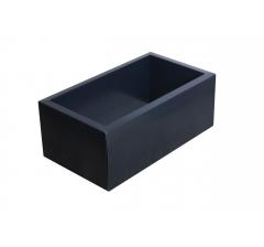 Коробка 320*180*110 мм с прозрачной крышкой, темно-синее дно
