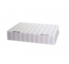Коробка 28*21*6 см, дизайн 19, ДП77