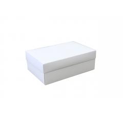 Коробка подарочная 230*150*85, белая