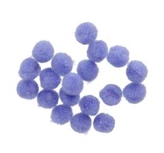 Помпоны сиреневые ( 50 грамм)
