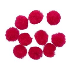 Помпоны фуксия  (1000 шт)
