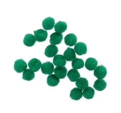 Помпоны зеленые ( 50 грамм)