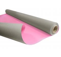 Бумага Kraft Duo 79 см/ 10 м, серо-розовая