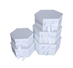 Комплект из 5 коробок подарочных h 20cm śr 39cm PUD202