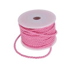 Шнур канатный 3 мм/ 10 м, розовый