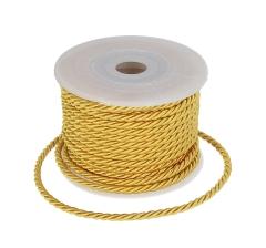 Шнур канатный 3 мм/ 10 м, желтый