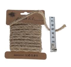 Шнур льняной 5 мм/3 м