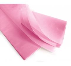 Бумага тишью 75*50 см, 24 листа, светло-розовый