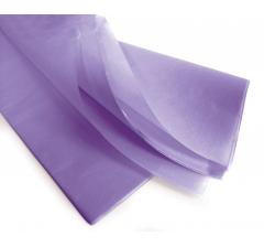 Бумага тишью 75*50 см, 24 листа, сиреневый
