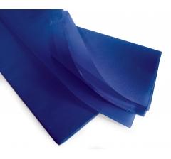 Бумага тишью 75*50 см, 24 листа, темно-синяя