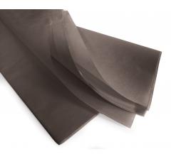 Бумага тишью 75*50 см, 24 листа, темно-серая