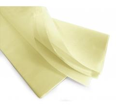 Бумага тишью 75*50 см, 24 листа, кремовый