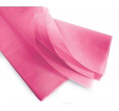 Бумага тишью 75*50 см, 24 листа, цикламен