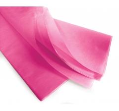 Бумага тишью 75*50 см, 24 листа, фуксия