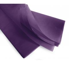 Бумага тишью 75*50 см, 24 листа, фиолетовая
