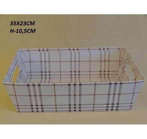 Коробка декоративная W2028 белая
