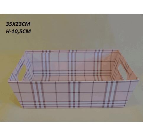 Коробка декоративная W2029 розовая