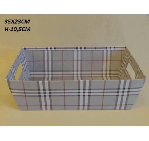 Коробка декоративная W2030 серая