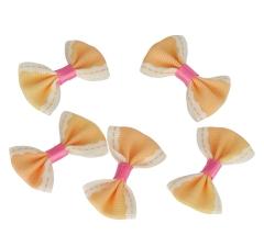 Бантики персиковые (100 шт.)
