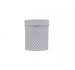 Коробка картонная круглая с рисунком 150*180 дизайн  70