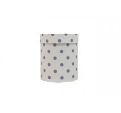 Коробка картонная круглая с рисунком 150*180 дизайн 75