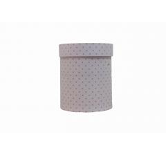 Коробка картонная круглая с рисунком 150*180 дизайн 93