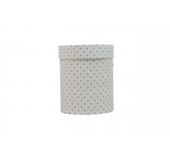Коробка картонная круглая с рисунком 150*180 дизайн 95