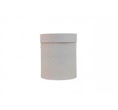 Коробка картонная круглая с рисунком 150*180 дизайн 101