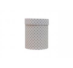 Коробка картонная круглая с рисунком 150*180 дизайн 103
