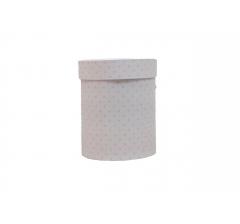 Коробка картонная круглая с рисунком 150*180 дизайн 105