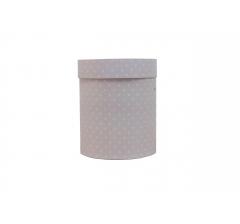 Коробка картонная круглая с рисунком 150*180 дизайн 106