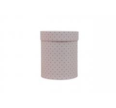 Коробка картонная круглая с рисунком 150*180 дизайн 108