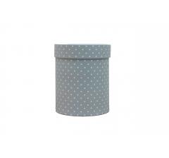 Коробка картонная круглая с рисунком 150*180 дизайн 112