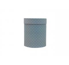 Коробка картонная круглая с рисунком 150*180 дизайн 113