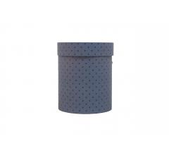 Коробка картонная круглая с рисунком 150*180 дизайн 115